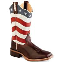 BOOTS WESTERN OLD WEST FRAUEN modell USA FLAG