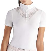 WETTBEWERB POLO CAVALLERIA TOSCANA MÄDCHEN PERFORATED DOUBLE V