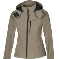 DAMEN HOODED SOFTSHELLJACKE EQUILINE SABY