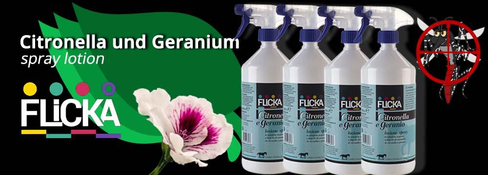 Citronella und Geranium Spray Lotion: das neue natürliche Repellent!