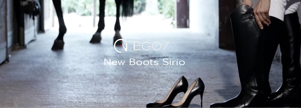 Neue Sirio Ego7 Stiefel: Neuer unschlagbarer Preis, 100% Made in Italy