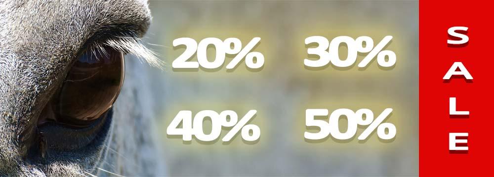 Der Verkauf hat begonnen: Rabatte bis zu -50%