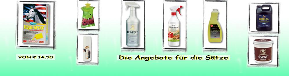 Produkte Abschreckungsmittel gegen Fliegen und Mücken